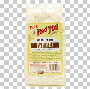 Tapioca Pudding Bob's Red Mill Flour Whole Grain PNG