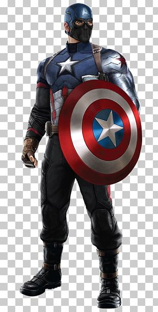 Captain America Iron Man Bucky Barnes Costume Marvel Cinematic Universe PNG