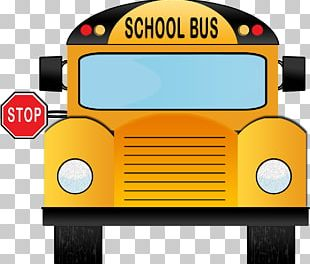 School Bus Bus Driver Bus Stop PNG