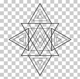 Triangle Sacred Geometry Geometric Shape Area PNG