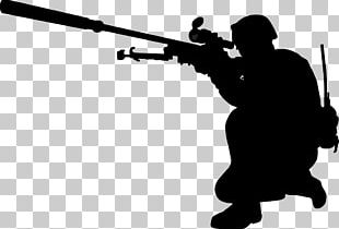 Soldier Military Silhouette Army PNG