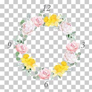Floral Design Rose Daffodil Flower PNG