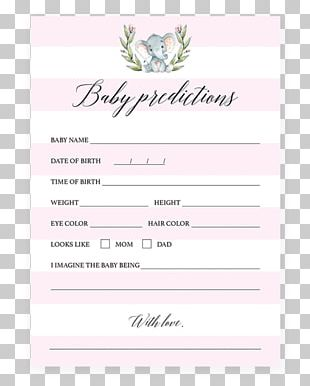 Wedding Invitation Infant Baby Shower Diaper Party PNG