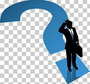 Question Mark Businessman PNG