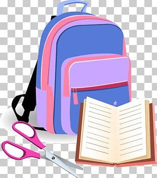 Backpack Bag School PNG