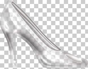Slipper Cinderella High-heeled Footwear Shoe PNG