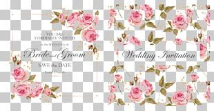 Wedding Invitation Flower PNG