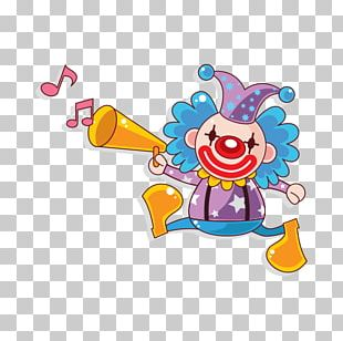 Clown Circus Cartoon PNG