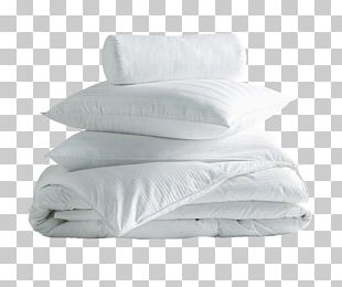 Pillow Bed Sheets Linens Duvet Bedding PNG