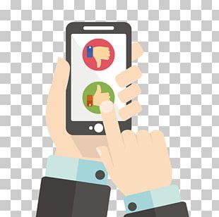 Mobile App Smartphone Illustration PNG