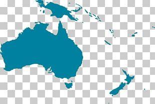 Papua New Guinea New Zealand Australia Map Globe PNG