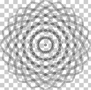 Geometry Op Art PNG