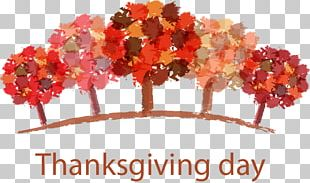 Thanksgiving Dinner Greeting Card Thanksgiving Day Wish PNG