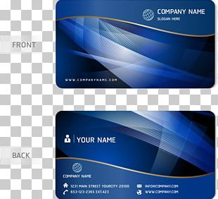Business Card Design PNG