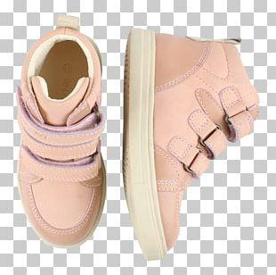 Hook And Loop Fastener Velcro Sneakers Shoe Beige PNG