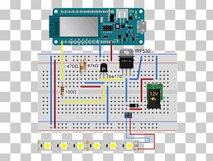 Microcontroller Arduino Breadboard Electronics Light-emitting Diode PNG