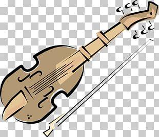 Bass Guitar Bass Violin Musical Instrument PNG