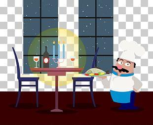Restaurant Dinner Cook Illustration PNG