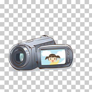 Video Camera Cartoon Photography PNG