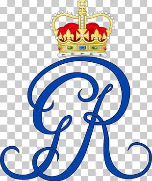Royal Cypher St James's Palace Coronation Of Queen Elizabeth II Monogram Monarch PNG