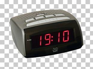 Alarm Clocks Digital Data Radio Clock Light-emitting Diode PNG