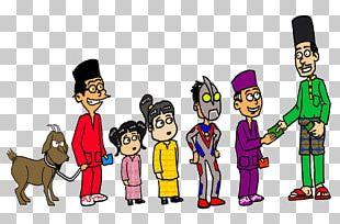 Cartoon Eid Al-Fitr Holiday Joke PNG