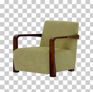 Club Chair Eames Lounge Chair Green Chaise Longue PNG