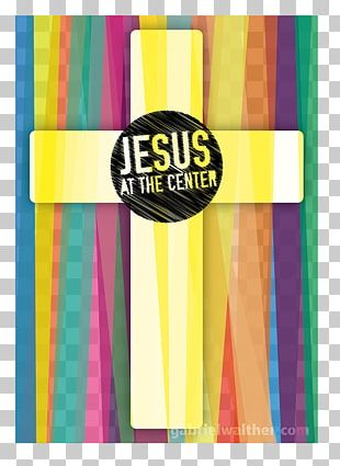 Jesus At The Center: Live Graphic Design PNG