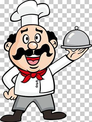Cook Drawing Waiter Illustration PNG