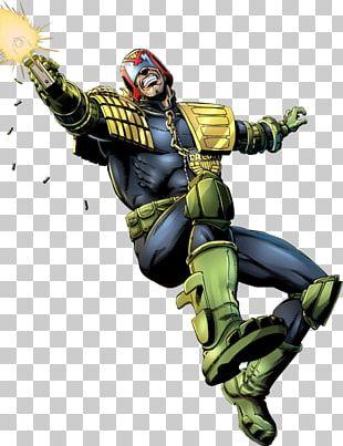 Judge Dredd Superhero Comics PNG