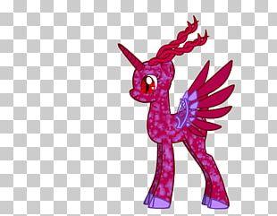 Pink M Animal Legendary Creature Animated Cartoon Yonni Meyer PNG
