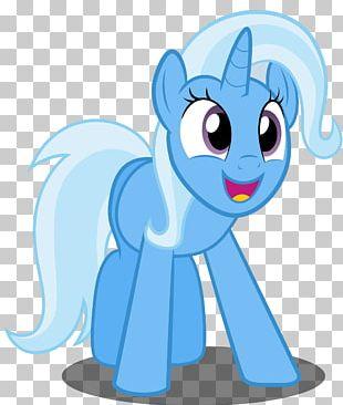 Trixie Pony PNG