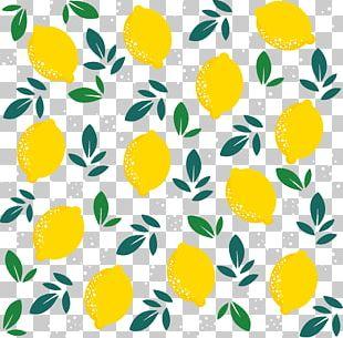 Lemon Yellow PNG