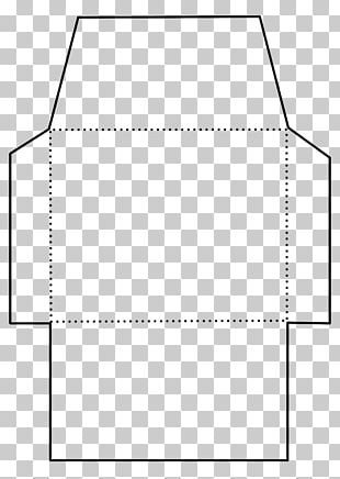 Paper Envelope Template Rectangle Pattern PNG