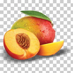 Peach Juice Coconut Water Slush Food PNG