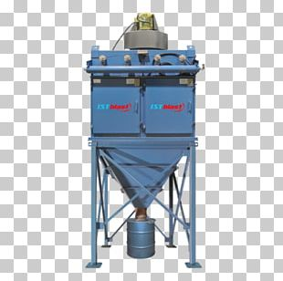 Dust Collector Abrasive Blasting Dust Collection System Hopper PNG