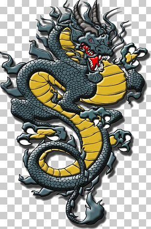 Chinese Dragon Japanese Dragon PNG