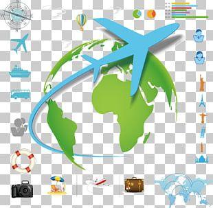 Infographic Travel Illustration PNG