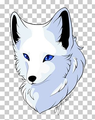 Arctic Fox Canidae Tattoo PNG