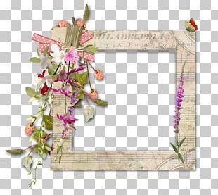 Digital Scrapbooking Floral Design Frames Flower PNG