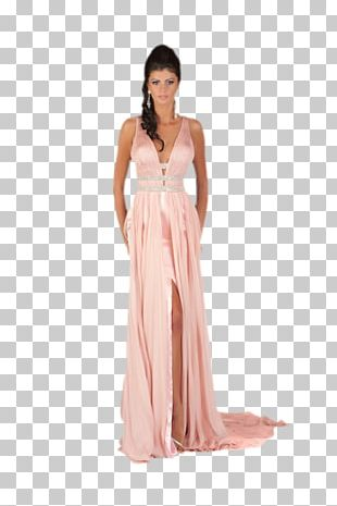 Cocktail Dress Fashion Gown Model PNG
