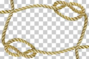 Rope Frame Knot PNG