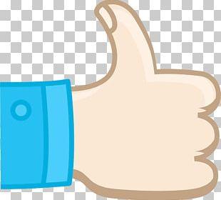 Thumb Signal Cartoon Illustration PNG