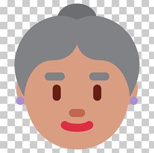 Computer Icons Emoji Emoticon Old Age Smiley PNG