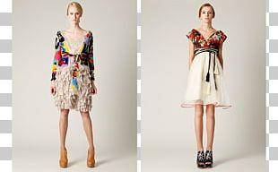 Fashion Show Dress Lookbook Pattern PNG