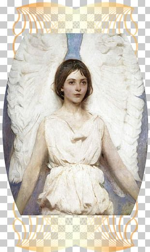 Smithsonian American Art Museum Angel Oil Painting Reproduction Artist PNG