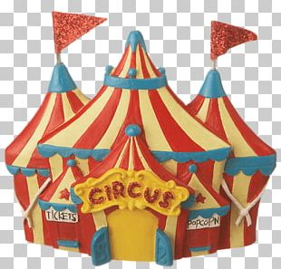 Birthday Cake Circus Tent Carpa Party PNG