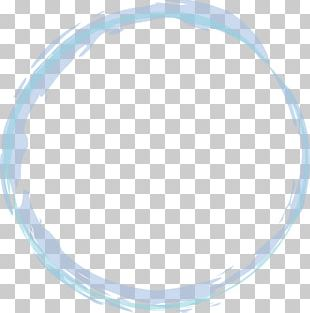 Blue Magic Circle PNG