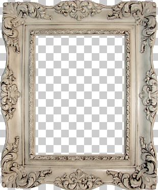 Frame Antique Vintage Clothing Table Mirror PNG