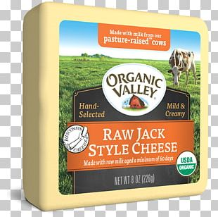 Organic Food Raw Milk Cheese Organic Valley PNG